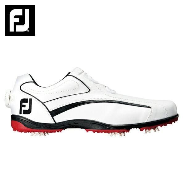 ソフトスパイクゴルフシューズフットジョイ Foot JoyEXL Boa WH/BK45222ゴルフスパイク メンズ