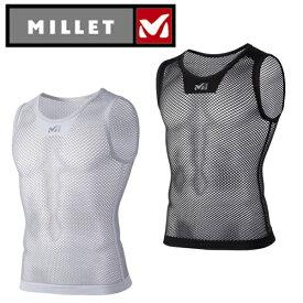 ミレー(MILLET) アンダーシャツ ノースリーブ メンズ ドライナミック メッシュ NS クルー MIV01248