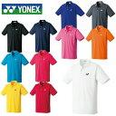 ヨネックス テニスウェア バドミントンウェア ゲームシャツ メンズ レディース ポロシャツ 10300 日本バドミントン協…