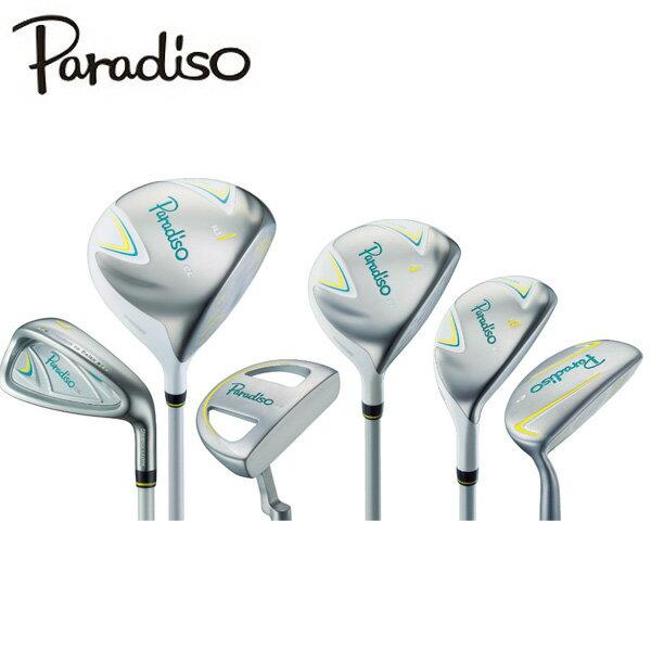 パラディーゾ ParadisoParadiso CLゴルフクラブ ハーフセット 7本セット レディース