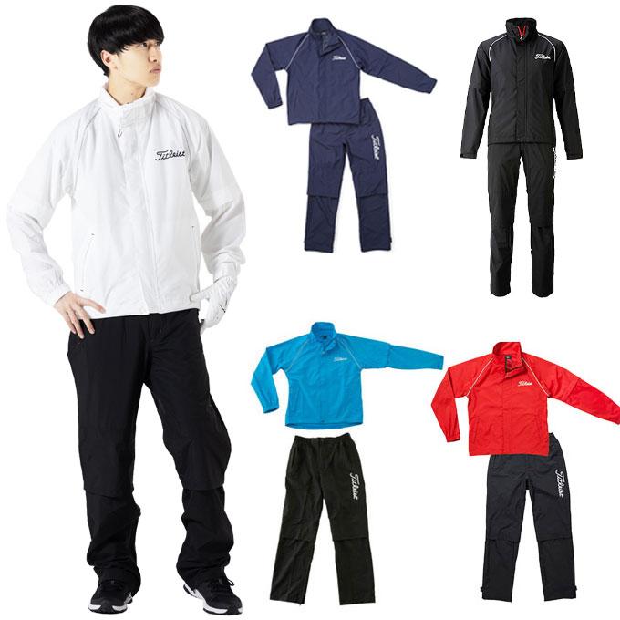 タイトリスト TITLEISTレインスーツTSMR1592ゴルフ レインウェア メンズ