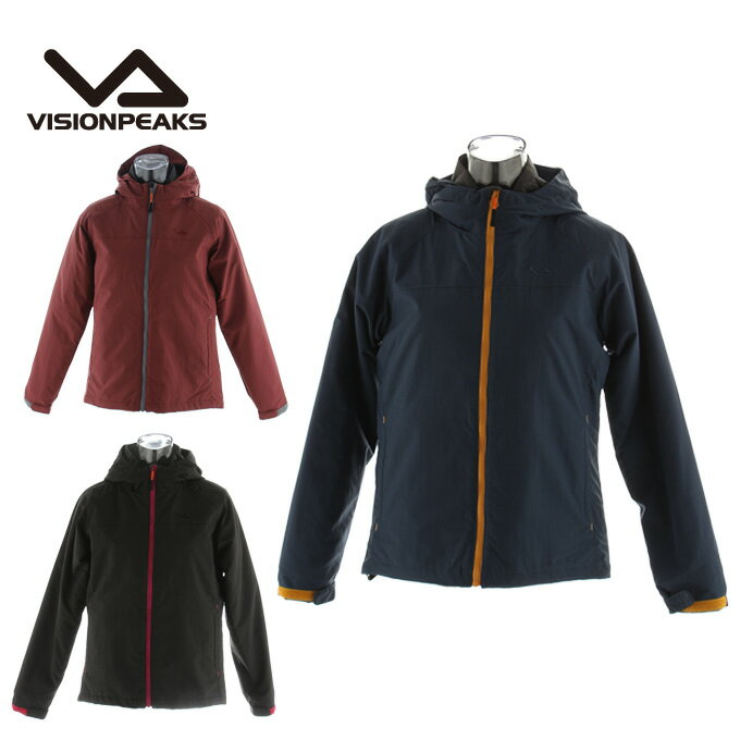 ビジョンピークス VISIONPEAKSアウトドアウェア トレッキング ジャケット レディース3ウェイHDVP170311F02