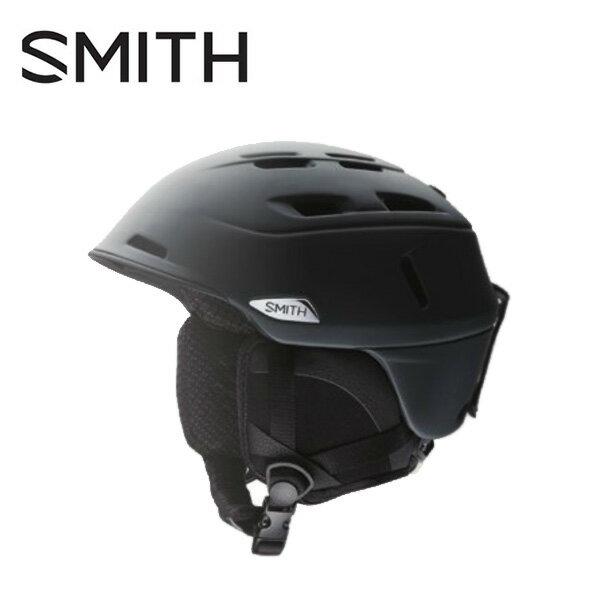 スミス SMITHCamber キャンパー MATBLKスキー スノーボード ヘルメット メンズ
