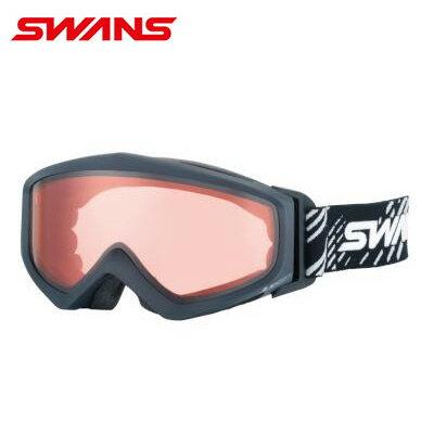 スワンズ SWANSGUEST-LCD MBKスキー スノーボード 眼鏡対応ゴーグル メンズ レディース2016年 ウィンタースノーゴーグル