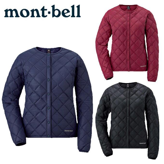 モンベル mont-bellスペリオダウン ラウンドネックジャケット1101504アウトドアウェア レディース