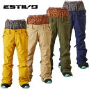 エスティボ ESTIVOスノーボードウェア パンツ レディースEV COOLSTAR PNTEVW3520