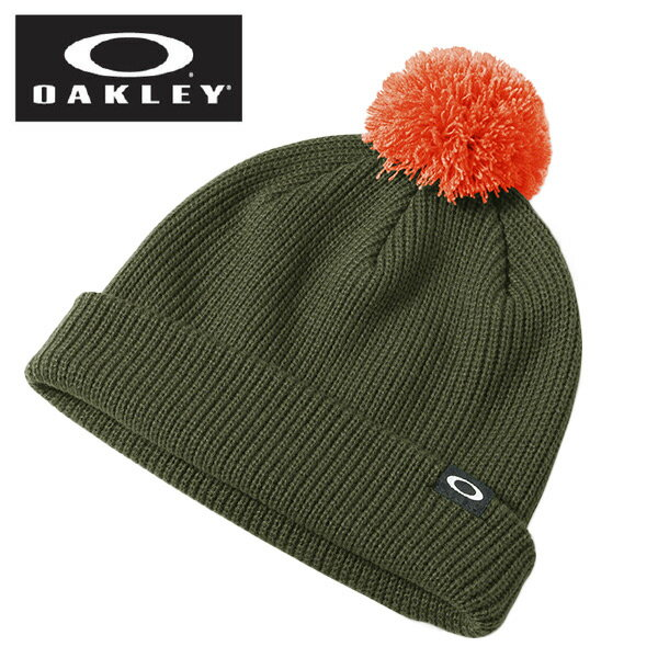 オークリー OAKLEYRiviera Pom Beanie HERB911519-75Lウインターアクセサリー ニットキャップ 帽子 メンズ2016年防寒