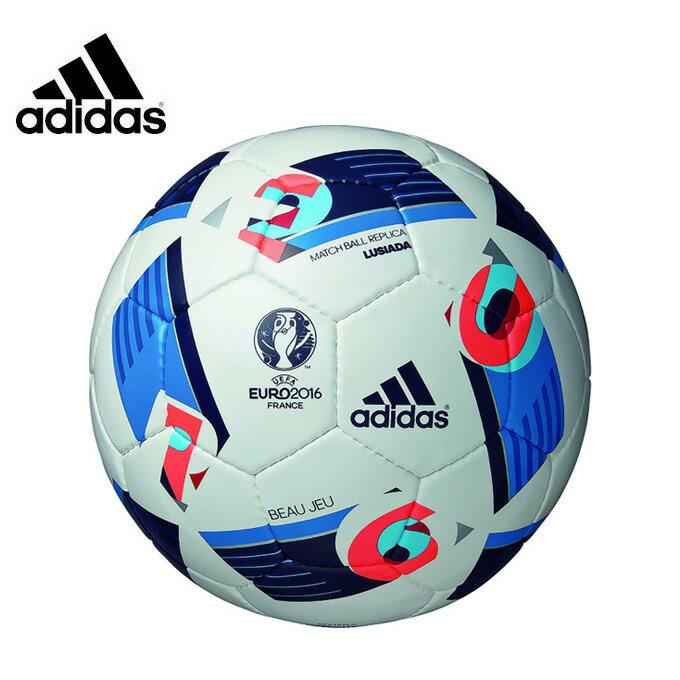 アディダス adidasサッカーボール5号球 検定球 中学校 高校 一般EURO2016 ボール ルシアーダAF5152LU