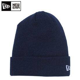 ニューエラ NEW ERA ゴルフ ニット帽 メンズ Basic Cuff Knit ネイビー × ホワイトフラッグ 11120481G