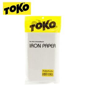 トコ ワクシングペーパー 100枚入り 600 2210 TOKO チューンナップ用品