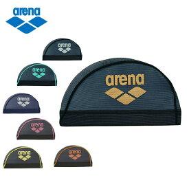 アリーナ スイムキャップ メッシュ メンズ レディース メッシュキャップ ARN-6414 arena