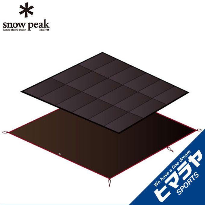 スノーピーク snow peak インナーマット アメニティドームS マットシートセット SET-022