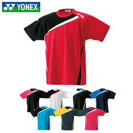 ヨネックス テニスウェア バドミントンウェア Tシャツ 半袖 メンズ レディース アシンメトリー半袖Tシャツ RWHI1601 YONEX