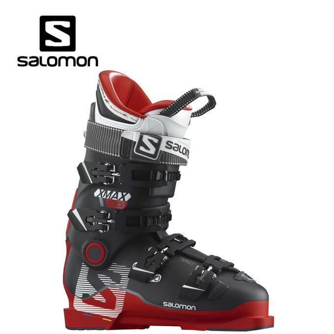 サロモン salomon X MAX100 メンズスキーブーツ red/black X-MAXバックルブーツ【15-16 2016モデル】【国内正規品】