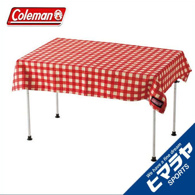 コールマン テーブルアクセサリー テーブルクロスレッドチェック 2000026878 coleman