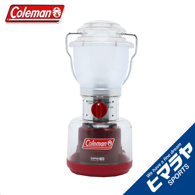 コールマン Coleman LEDランタン CPX6 リバーシブルLEDランタン? 2000027302