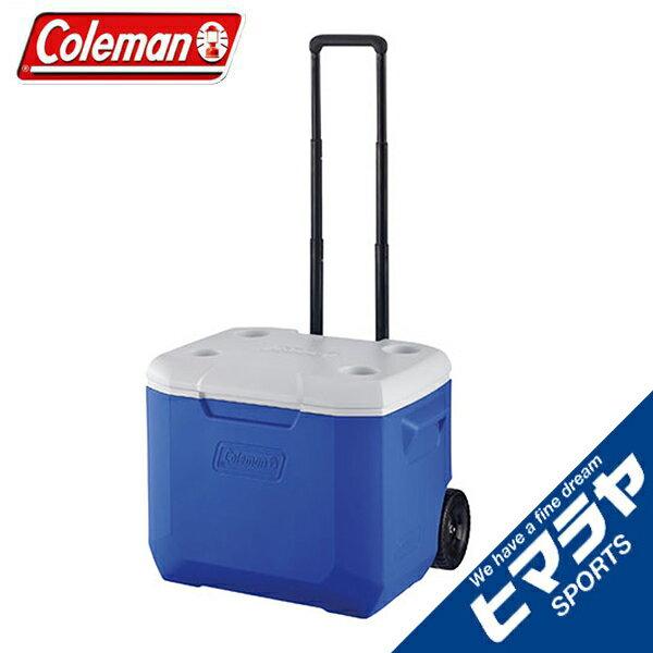 コールマン クーラーボックス ホイールクーラー/60QTブルー/ホワイト 2000027863 coleman