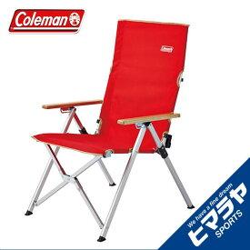 コールマン アウトドアチェア リクライニングチェア レイチェアレッド 2000026744 Coleman