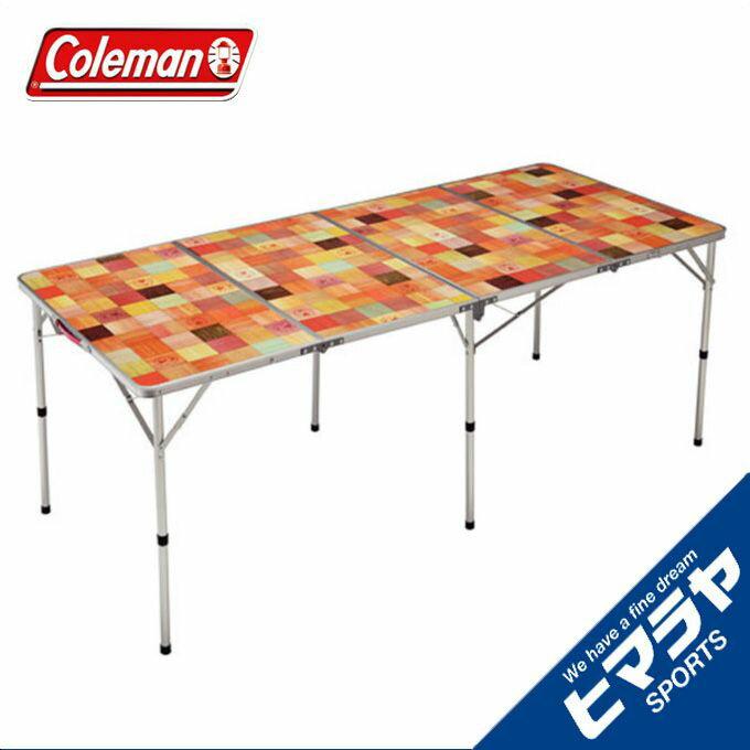 コールマン アウトドアテーブル 大型テーブル ナチュラルモザイクTMリビングテーブル/180プラス 2000026749 coleman