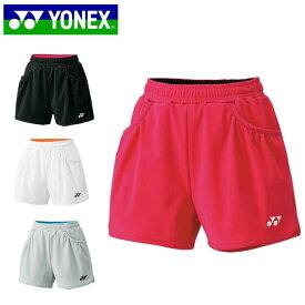 ヨネックス テニスウェア バドミントンウェア ショートパンツ レディース ニットショートパンツ 25019 日本バドミントン協会審査合格品 YONEX