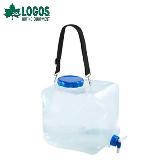 ロゴス LOGOS ポリタンク 抗菌広口水コン16L 81441621