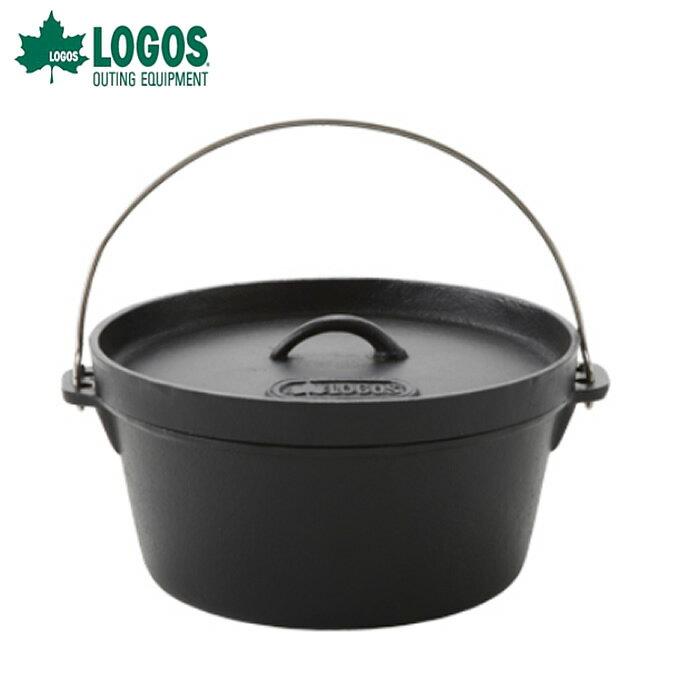 ロゴス LOGOS ダッチオーブン SLダッチオーブン12inch・ディープ バッグ付き 81062232