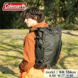 コールマン リュックサック 33L メンズ レディース アトラスロールトップ33 ATLAS ブラック 2000021719 Coleman バックパック