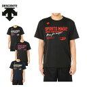 デサント DESCENTEバレーボール プラクティスシャツ メンズ半袖グラフィックプラシャツDOR-B8085