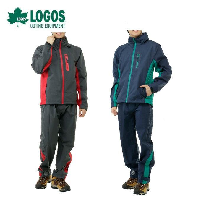 ロゴス LOGOS レインウェア上下セット メンズ レインスーツ トリガー 28662