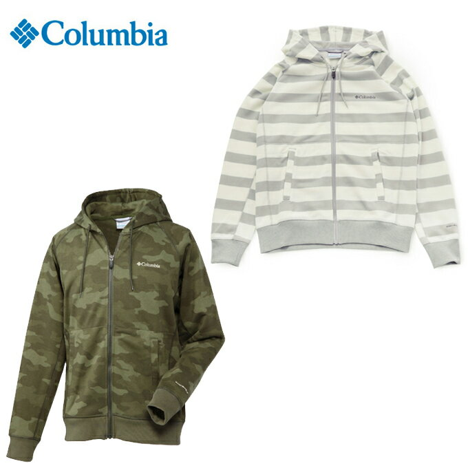 コロンビア(Columbia) スウェットジャケット メンズ グッドホープバインズパターンドフーディー PM1196