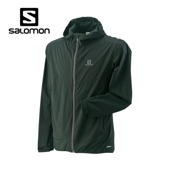 サロモン(salomon) アウトドア ジャケット メンズ JP エレメンタル ウィンド フーディー L38076100