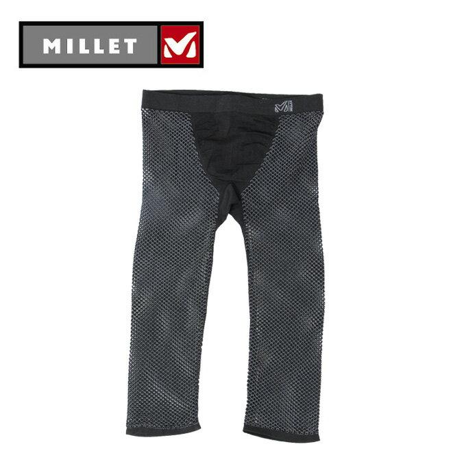 ミレー MILLET ロングタイツ レディース DRYNAMIC MESH 3/4 TIGHTS ドライナミック メッシュ 3/4 タイツ MIV01359