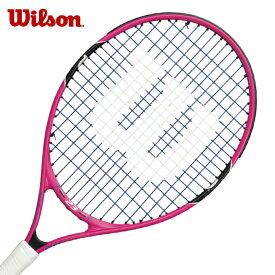ウィルソン 硬式テニスラケット 張り上げ済み ジュニア バーン23 BURN23 アルミ・グラファイト WRT218100 Wilson メンズ レディース