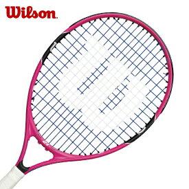 ウィルソン 硬式テニスラケット 張り上げ済み ジュニア バーン21 BURN21 アルミ・グラファイト WRT218000 Wilson メンズ レディース