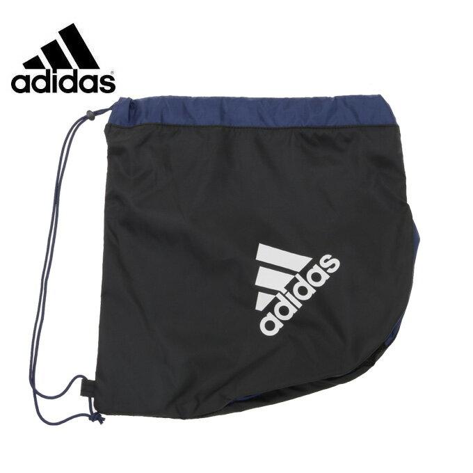 アディダス サッカー バックパック サッカーボールバッグ 1個入れ BK/NV AKM18 adidas
