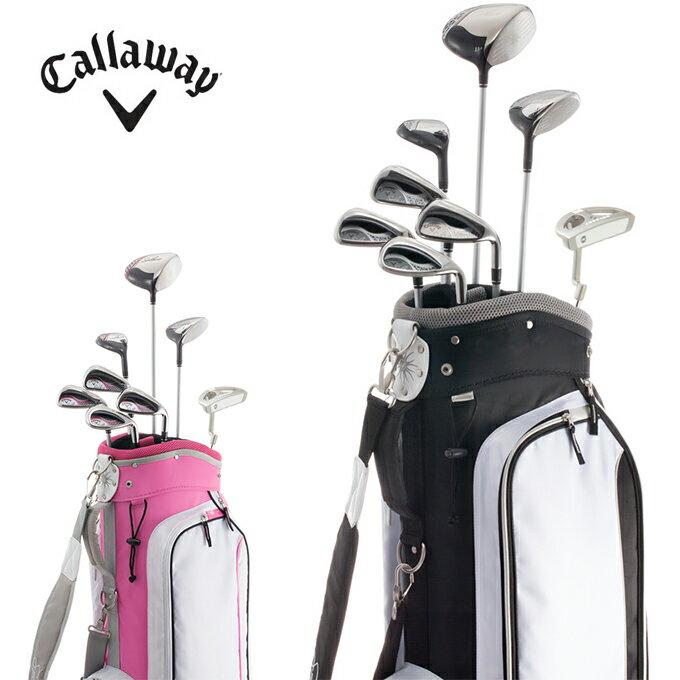 キャロウェイ Callawayゴルフ セットクラブ レディースSolaire ソレイル初心者向けセット