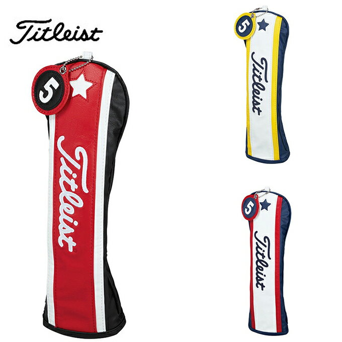 タイトリスト Titleist ゴルフ ヘッドカバー フェアウェイウッド用 メンズ AJHC63F