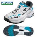 ヨネックス YONEXテニスシューズ オールコート用 メンズ レディースパワークッション 202 WH/SASHT202 572 テニス シューズ