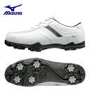 ミズノ MIZUNOゴルフシューズ ソフトスパイク ゴルフスパイク メンズティーゾイド51GQ1680