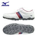 ミズノ MIZUNOゴルフシューズ スパイクレス 靴 メンズティーゾイド51GQ1685