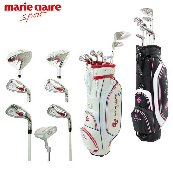 マリ クレール marie claire ゴルフ セットクラブ レディース ハーフセット WH MC18HG31 SET 2x4+PT+CB