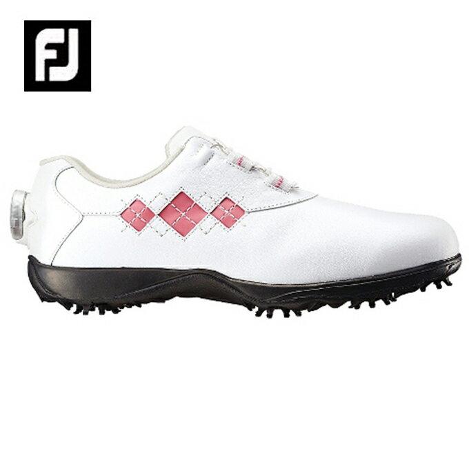 フットジョイ FootJoyゴルフシューズ ソフトスパイク ゴルフスパイク レディースeComfort Boa イーコンフォート98531W