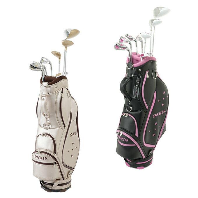 パリス PARIS ゴルフ セットクラブ レディース PARISセット PRS-6003 L-SET 2x4+UT+PT+CB