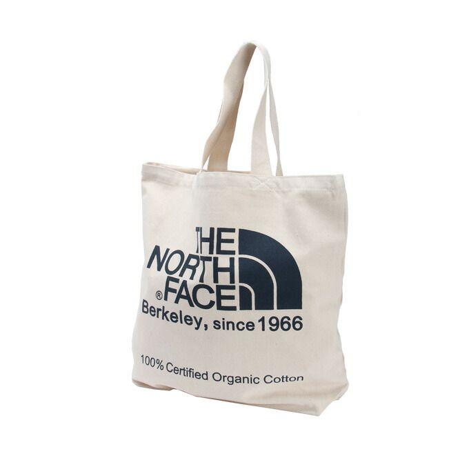 ノースフェイス トートバッグ TNFオーガニックコットントート NM81616 EB THE NORTH FACE