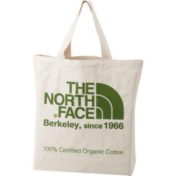 ノースフェイス トートバッグ TNFオーガニックコットントート NM81616 FG THE NORTH FACE