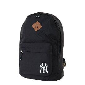 メジャーリーグベースボール リュックサック メンズ レディース ニューヨークヤンキース 600Dリュック ブラック YK-MBBK07-BK MAJOR LEAGUE BASEBALL