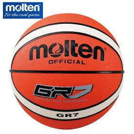 モルテン バスケットボール 7号球 ジウジアーロゴム BGR7-OI 屋外用 molten
