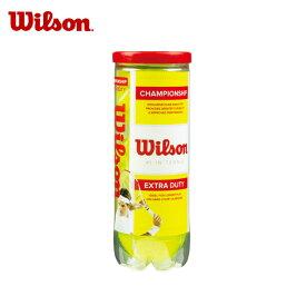 ウイルソン Wilson硬式テニスボールチャンピオンシップ・エクストラ・デューティー 3球入WRT100101