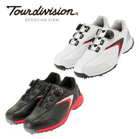 ツアーディビジョン Tour divisionゴルフシューズ ソフトスパイク ゴルフスパイクメンズスポーツスタイルA-TOPTD230101F01