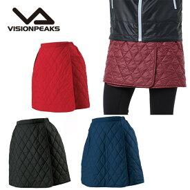 ビジョンピークス VISIONPEAKS アウトドア スカート レディース キルトラップスカート VP171118G02